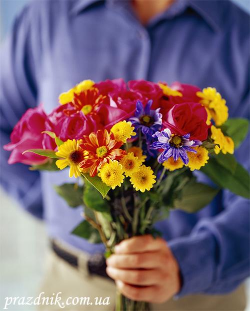 Букет цветов в подарок любимой