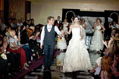 Показ свадебных коллекций