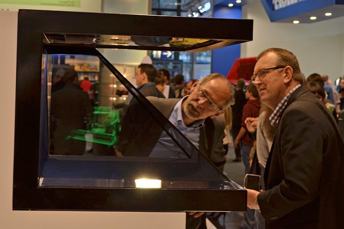 3D дисплей для демонстрации ваших продуктов