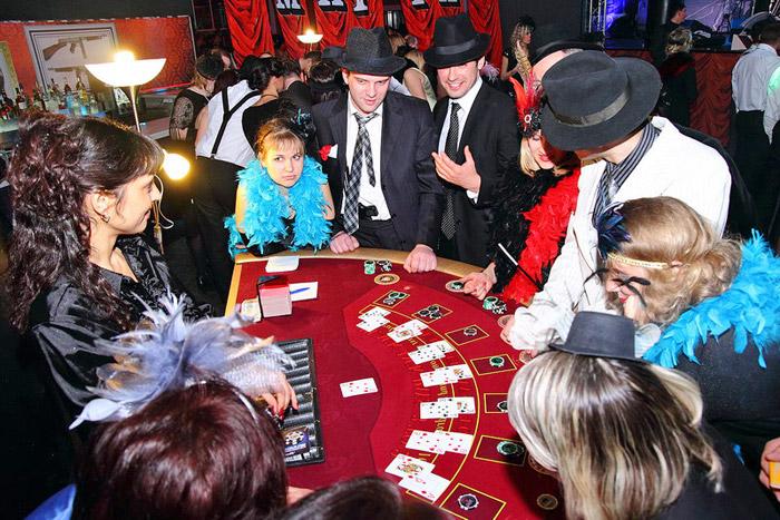 Проведение юбилея в казино