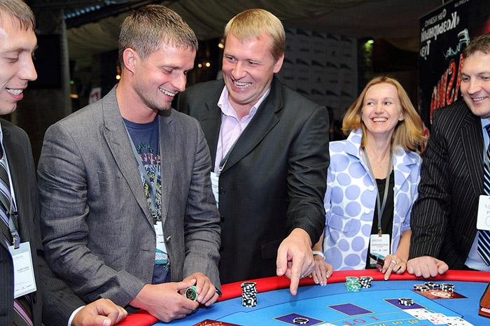 Юбилей в казино