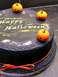 Страшный торт на Хеловин 2013