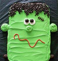 Красивый оригинальный торт на Хеллоуин