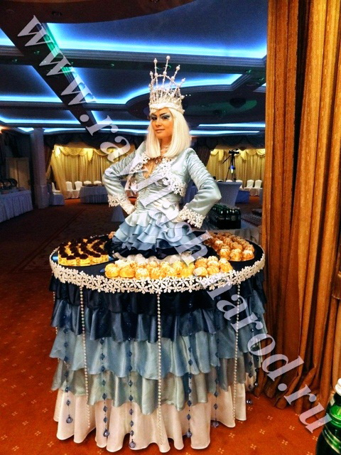 Живой стол - Снежная королева