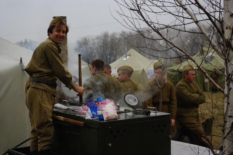Почувствуй колорит военной выездной кухни